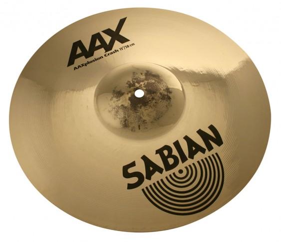 """SABIAN 15"""" AAX X-Plosion Crash Brilliant Cymbal"""