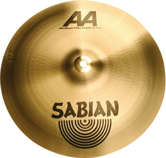 "SABIAN 14"" AA Medium Thin Crash Cymbal"