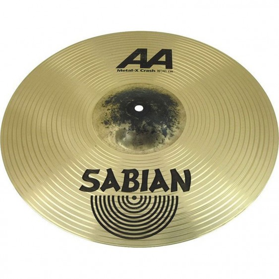 "SABIAN 18"" AA Metal-X Crash Brilliant Cymbal"