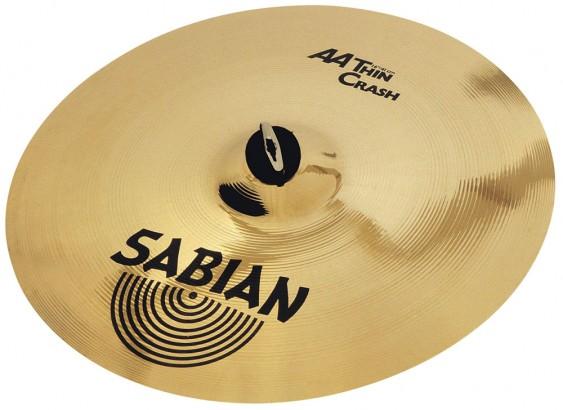 """Sabian 16"""" AA T Crash"""