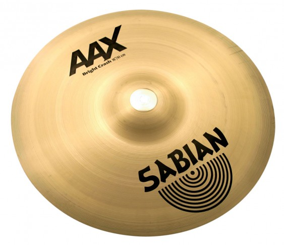 "SABIAN 16"" AAX Bright Crash Brilliant Cymbal"