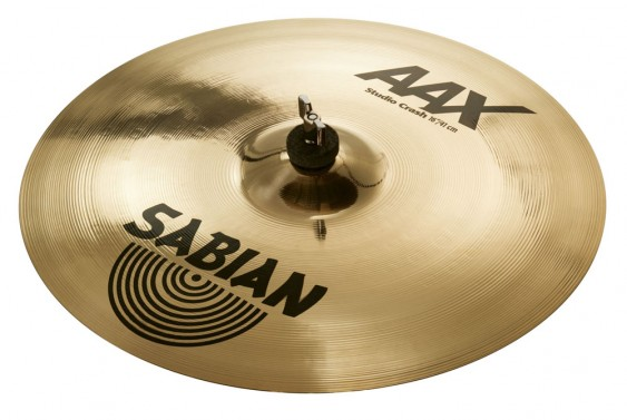 "Sabian 16"" AAX Studio Crash Brilliant Finish"