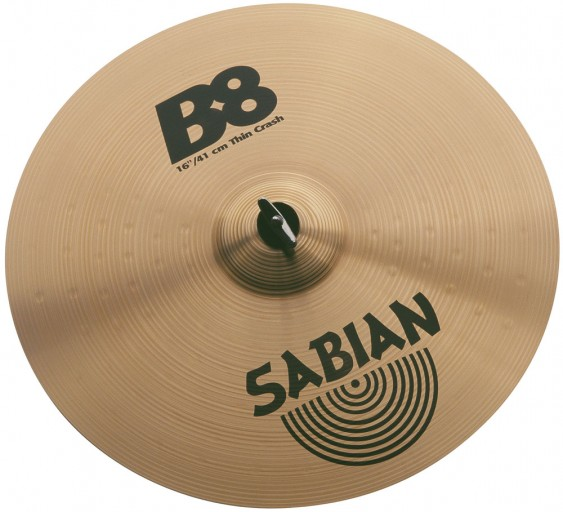 "SABIAN 18"" B8 Thin Crash Cymbal"