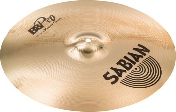 "SABIAN 16"" B8 Pro Medium Crash Cymbal"