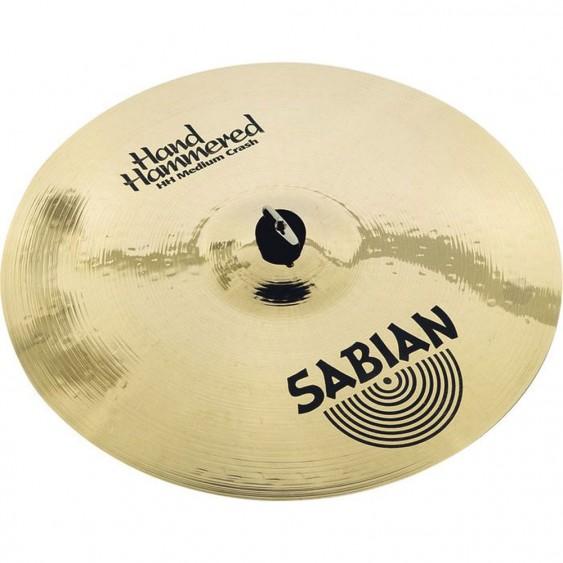 "SABIAN 16"" HH Medium Crash Brilliant Cymbal"