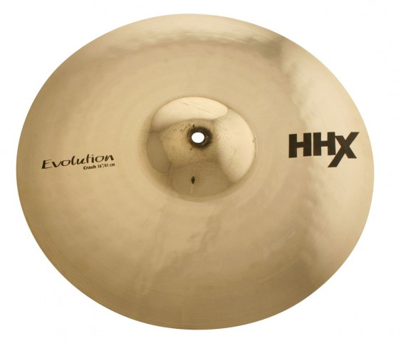 "Sabian 16"" HHX Evolution Crash Brilliant Finish"