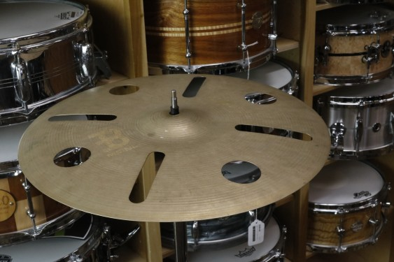 "Meinl Byzance Vintage 16"" Trash Crash Cymbal-Demo of Exact Cymbal-817 grams-Used W/ Full Warranty!"