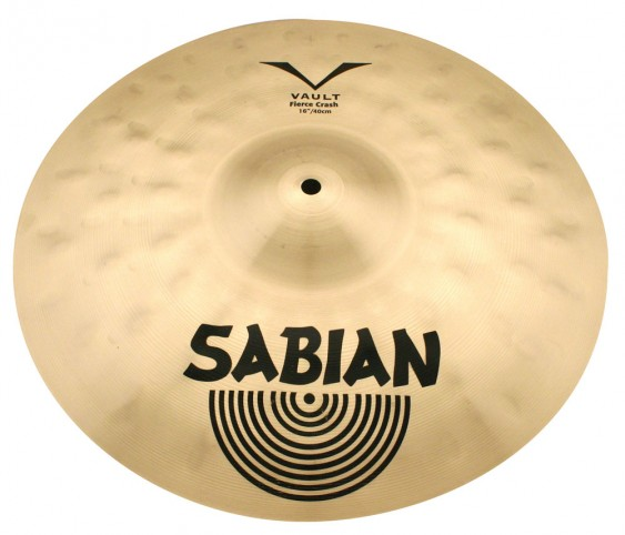 "SABIAN 17"" Vault JoJo Mayer Fierce Crash Cymbal"