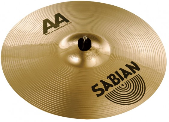 "SABIAN 17"" AA Metal-X Crash Brilliant Cymbal"