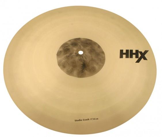 "SABIAN 17"" HHX Studio Crash Brilliant Cymbal"
