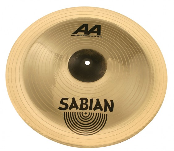"SABIAN 18"" AA Metal-X Chinese Brilliant Cymbal"