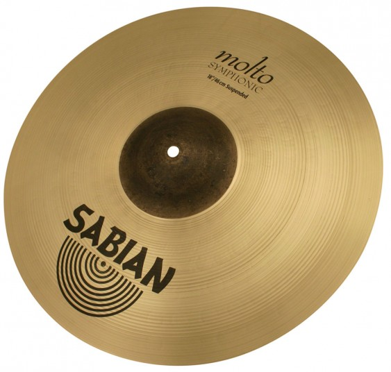 "Sabian 18"" AA Molto Symphonic Suspended Brilliant"