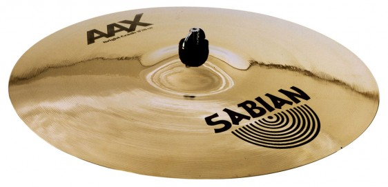 "SABIAN 18"" AAX Bright Crash Brilliant Cymbal"