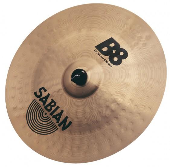 """SABIAN 18"""" B8 Chinese Cymbal"""
