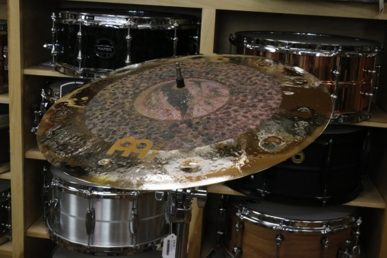 "Meinl Byzance Extra Dry 18"" Dual Crash-Demo of Exact Cymbal-1249 grams"