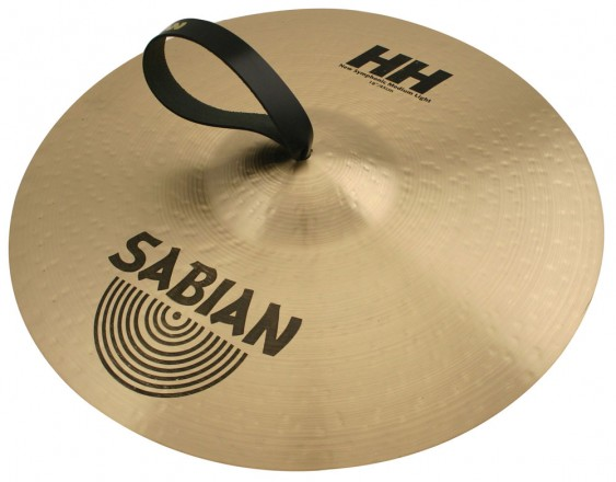 "SABIAN 18"" HH New Symphonic Medium Light Brilliant Pair Cymbal"