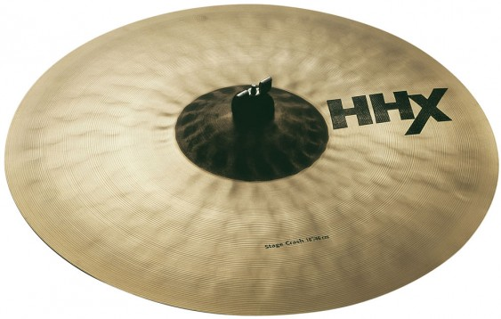 "Sabian 18"" HHX Stage Crash Brilliant Finish"