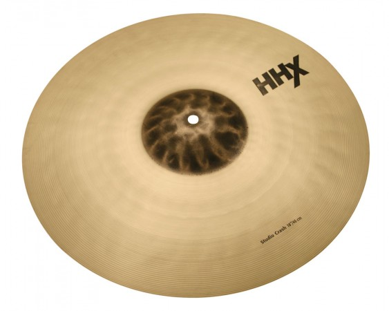"Sabian 18"" HHX Studio Crash Brilliant Finish"