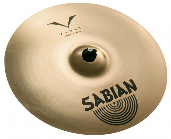 "SABIAN 20"" Vault Crash Brilliant Cymbal"