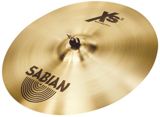 "SABIAN 18"" Xs20 Rock Crash Brilliant Cymbal"