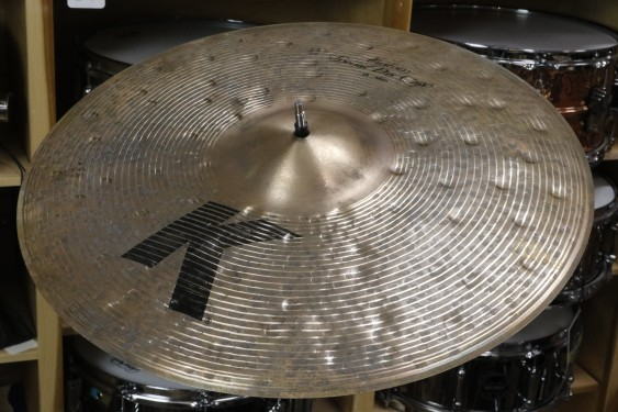 "Zildjian 19"" K Custom Special Dry Crash Cymbal- Demo of Exact Cymbal - 1416 grams"