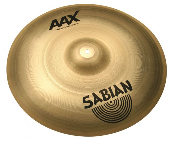"SABIAN 19"" AAX Metal Crash Brilliant Cymbal"