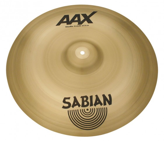 "SABIAN 20"" AAX Studio Crash Cymbal"