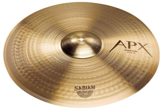 "SABIAN 20"" APX Solid Ride Cymbal"