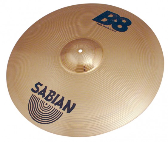 "SABIAN 20"" B8 Rock Crash Cymbal"