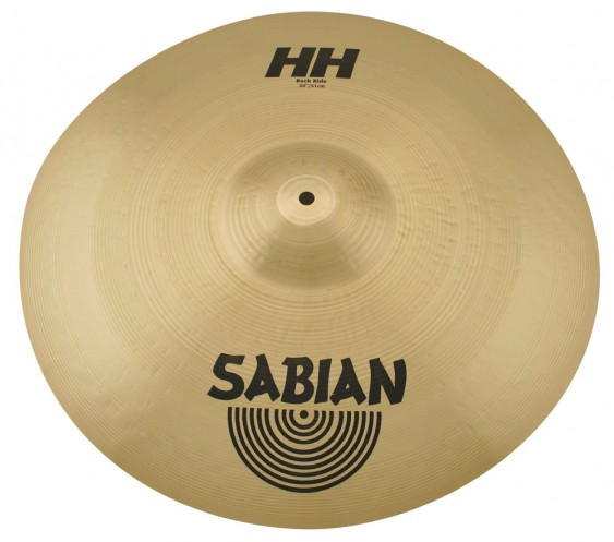 "SABIAN 20"" HH Rock Ride Brilliant Cymbal"