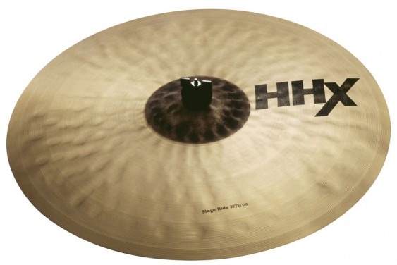 "Sabian 20"" HHX Stage Ride Brilliant Finish"