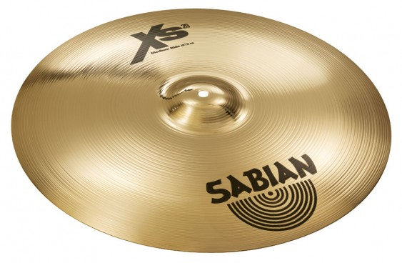"SABIAN 20"" Xs20 Medium Ride Brilliant Cymbal"