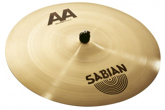 "SABIAN 21"" AA Dry Ride Brilliant Cymbal"
