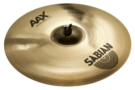 "Sabian 21"" AAX Raw Bell Dry Ride Brilliant Finish"