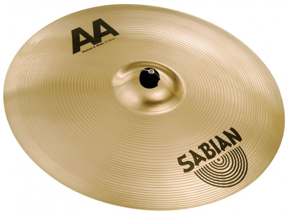 "SABIAN 22"" AA Metal-X Ride Brilliant Cymbal"