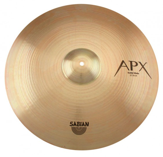 """SABIAN 22"""" APX Solid Ride Cymbal"""