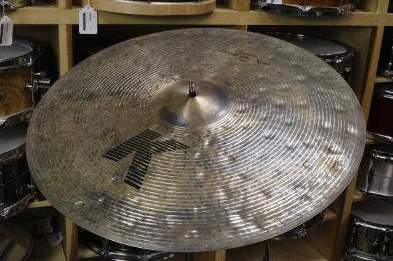 "Zildjian 23"" K Custom Special Dry Ride Cymbal-Demo of Exact Cymbal - 3143 grams"