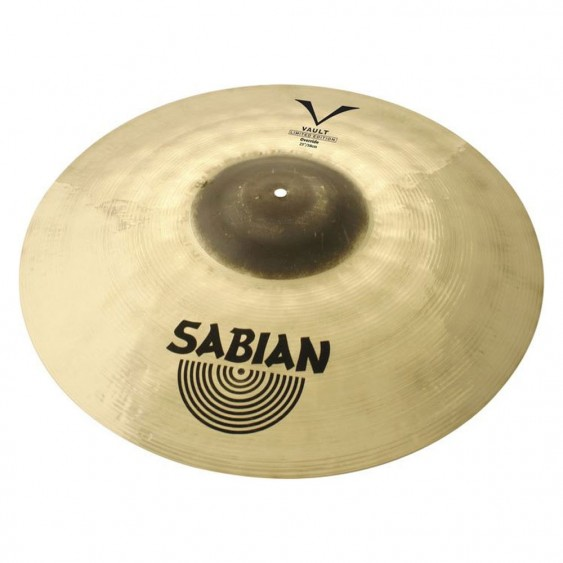 """SABIAN 23"""" Vault Jimmy Degrasso LE Override Cymbal"""