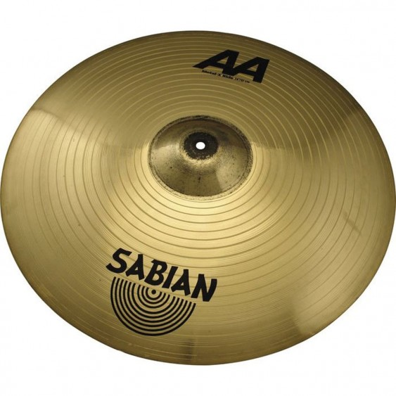"SABIAN 24"" AA Metal-X Ride Brilliant Cymbal"