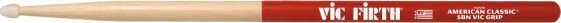 Vic Firth American Classic® 5BN Nylon Tip Vic Grip Hickory Drumsticks
