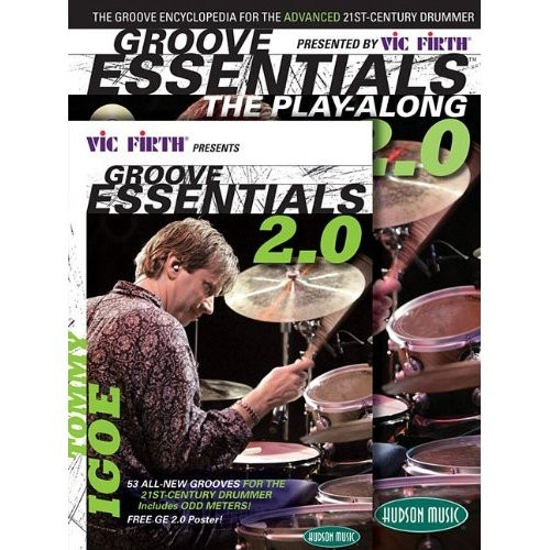 Hal Leonard Vic Firthᄄ Presents Groove Essentials 2.0 with Tommy Igoe - The Groove Encyclopedia for the Advanced 21st-Century Drummer - Percussion
