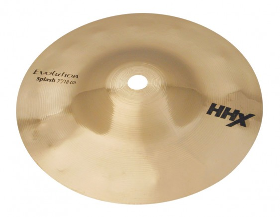 "Sabian 7"" HHX Evolution Splash Brilliant Finish"