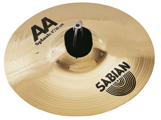 "Sabian 8"" AA Splash Brilliant Finish"