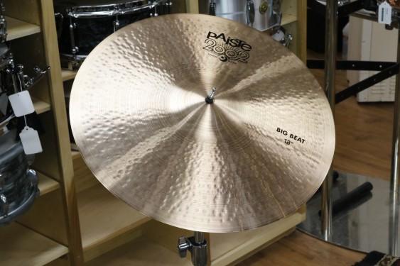 Paiste 18 2002 Big Beat Universal-Demo of Exact Cymbal-1316g