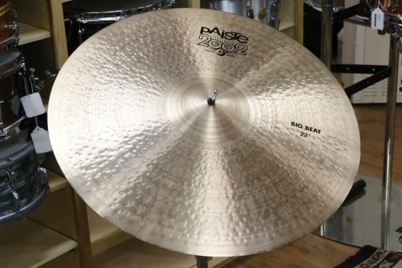 "Paiste 2002 22"" Big Beat Universal-Demo of Exact Cymbal-2238g"
