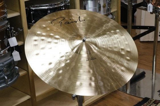 Paiste 20 Signature Precision Ride-Demo of Exact Cymbal-2349g
