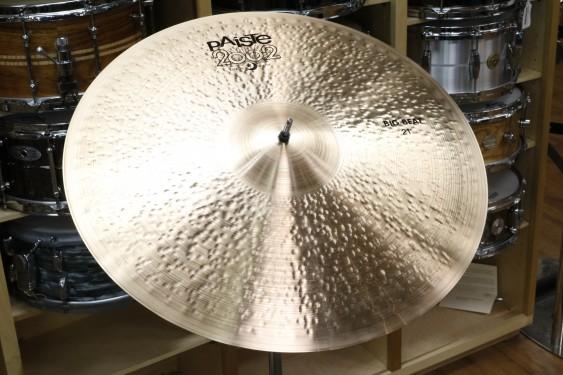 "Paiste 2002 21"" Big Beat Universal-Demo of Exact Cymbal-1865g"