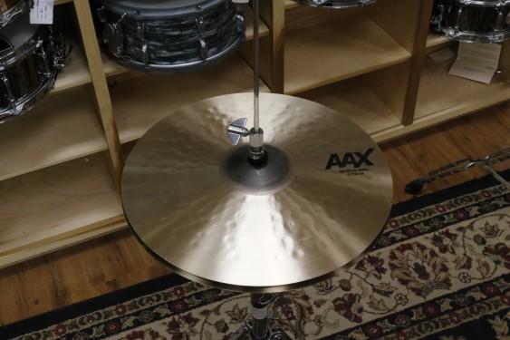 """Sabian 15"""" AAX Medium Hats - Demo of exact cymbal - top - 1049g - bottom - 1441"""
