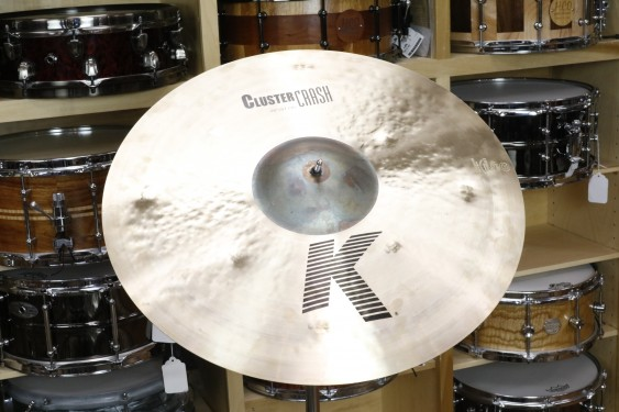 "Zildjian K 20"" Cluster Crash-Demo of Exact Cymbal-1814g"