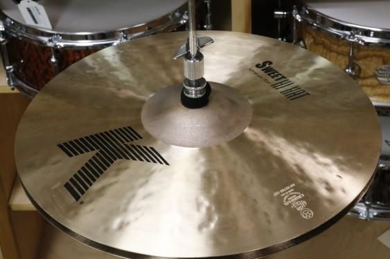 "Zildjian K Sweet 14"" Hi Hat Pair-Demo of Exact Cymbal-Top 1065g-Bottom 1488g"